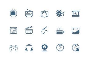 Media icons | piccolo series