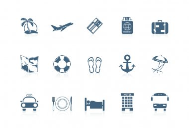 Vacation icons | piccolo series