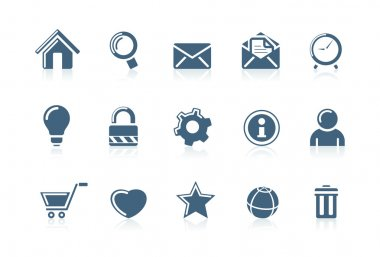 Web and internet icons | piccolo series 1
