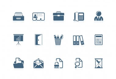 Office icons | piccolo series 1