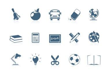 School icons | piccolo series