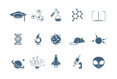 Science icons | Piccolo series