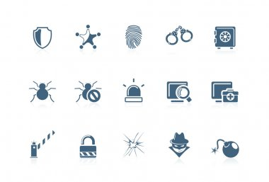 Security icons | Piccolo series