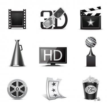 Movie icons | B&W series