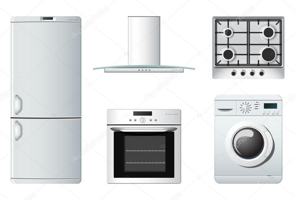 haushaltsgeräte | küche — Stockvektor © popcic #5694341
