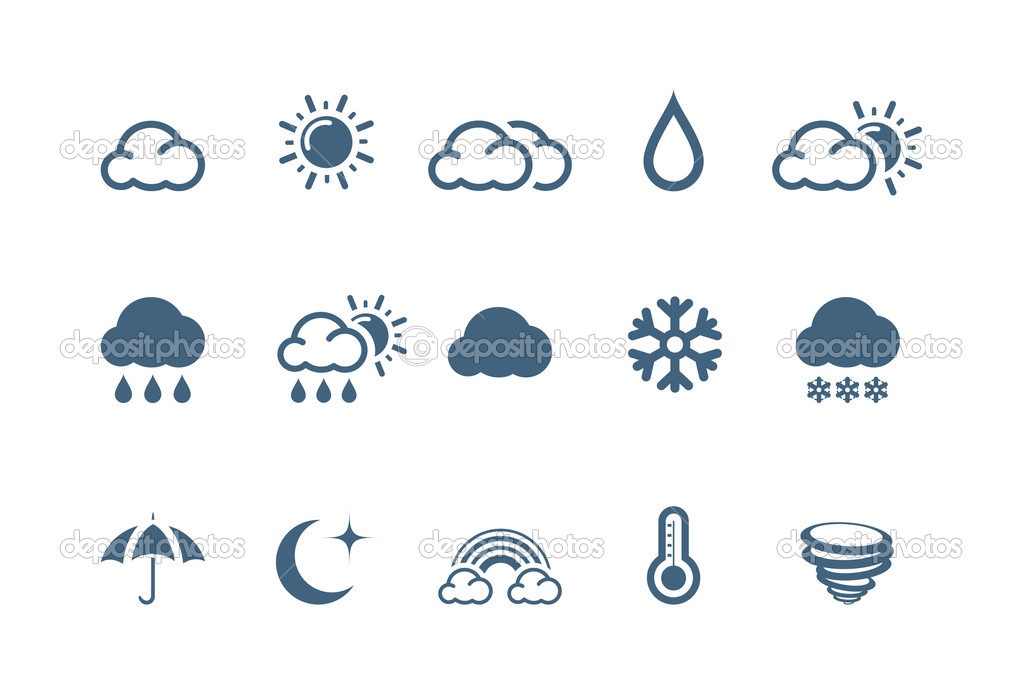 Weather icons | piccolo series