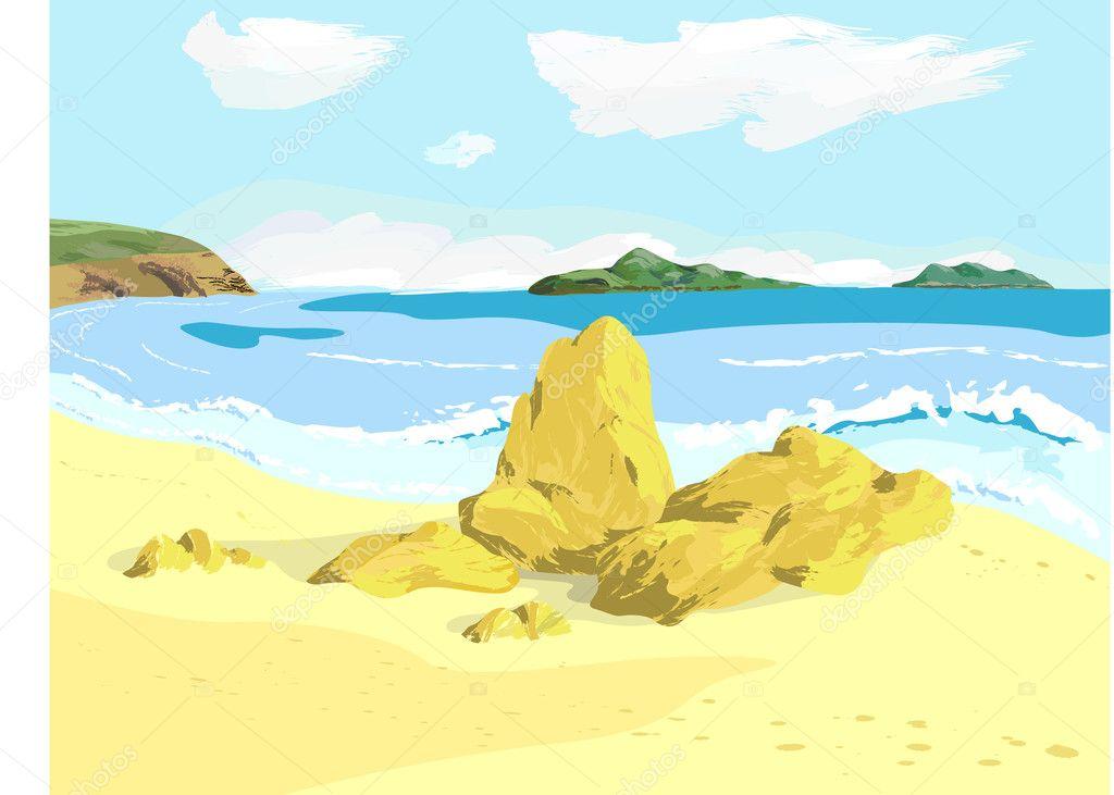 Sea bay
