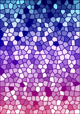 Vector colorful stained glass texture