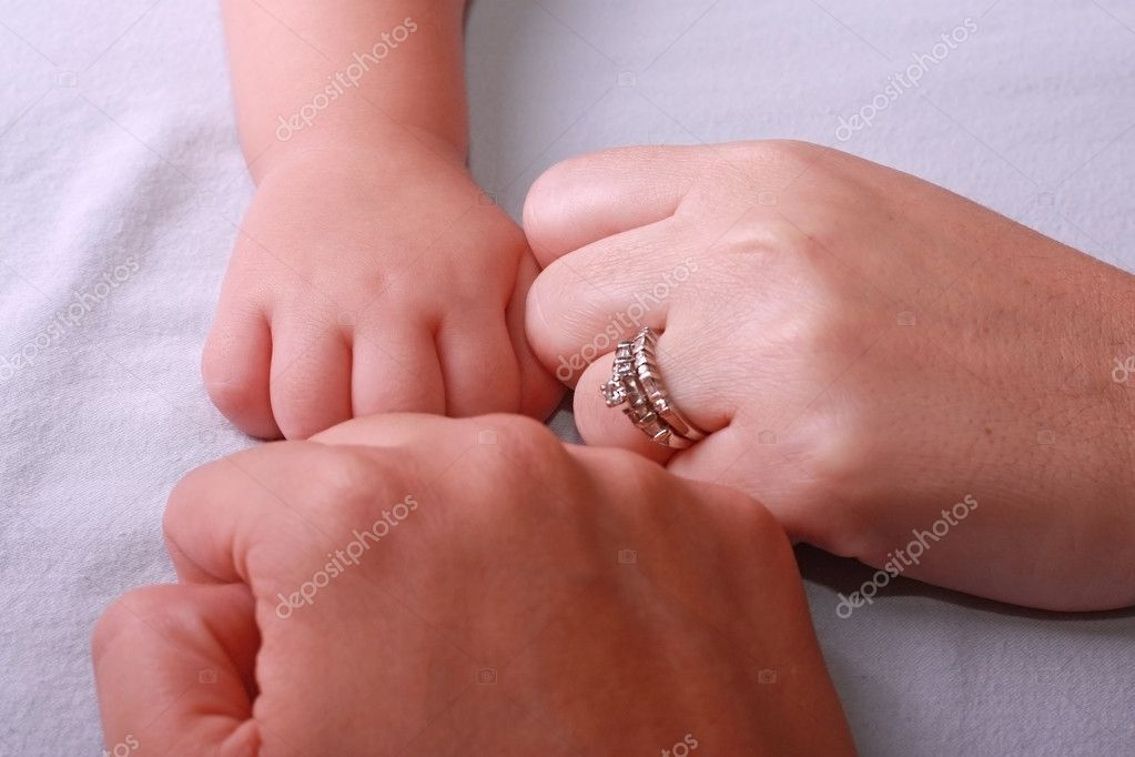 Father Mother And Baby Hands Family Stock Photo Dacasdo 5671351