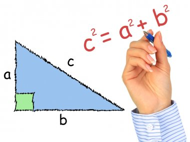 Right-angle triangle.