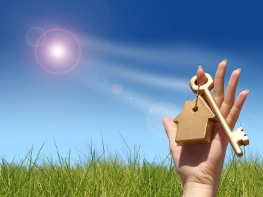 Concept of home ownership.