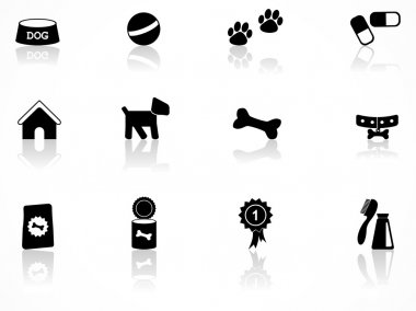 Different dog icons
