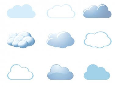 Weather icons - clouds