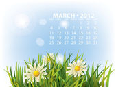 Kalendář březen