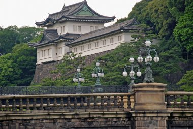 The imperial palace in Tokyo, Japan
