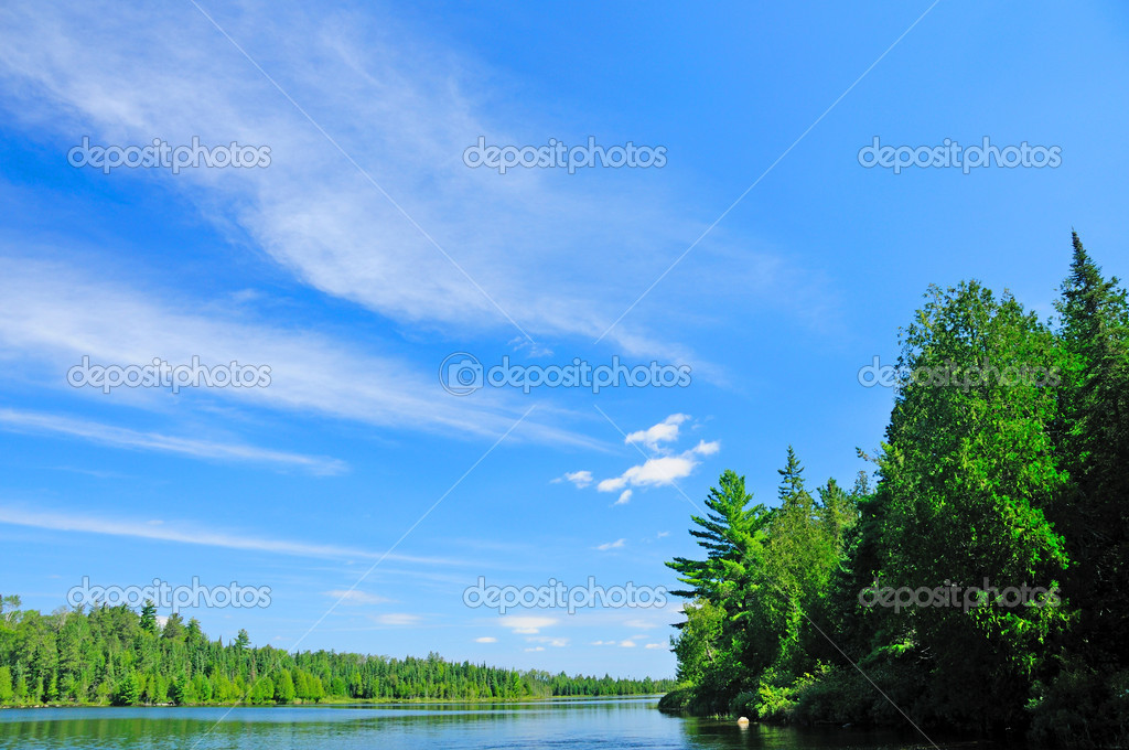 Blues skies over the Quetico
