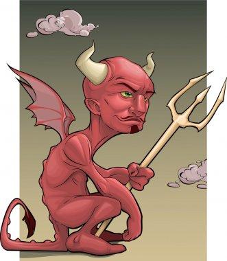 """Картина, постер, плакат, фотообои """"красный дьявол"""", артикул 5577296"""
