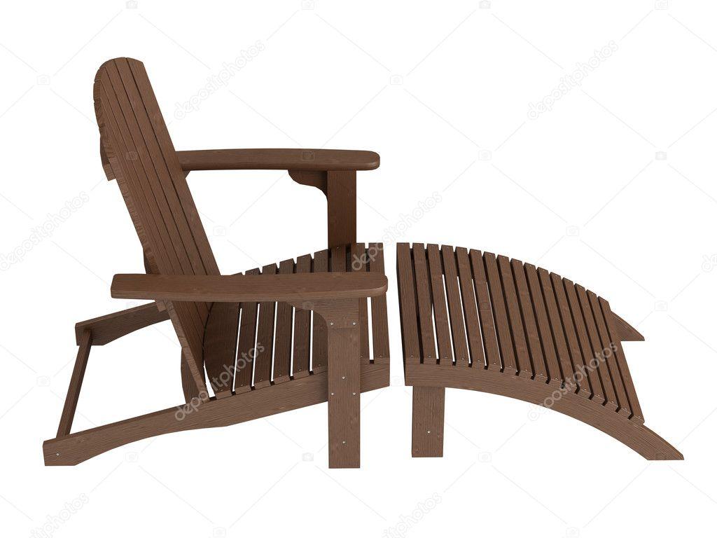 Sedia A Sdraio In Legno : Sedia a sdraio in legno u2014 foto stock © nmorozova #5398127