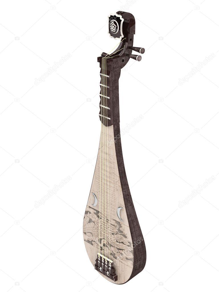 pipa or chinese guitar stock photo nmorozova 5634826