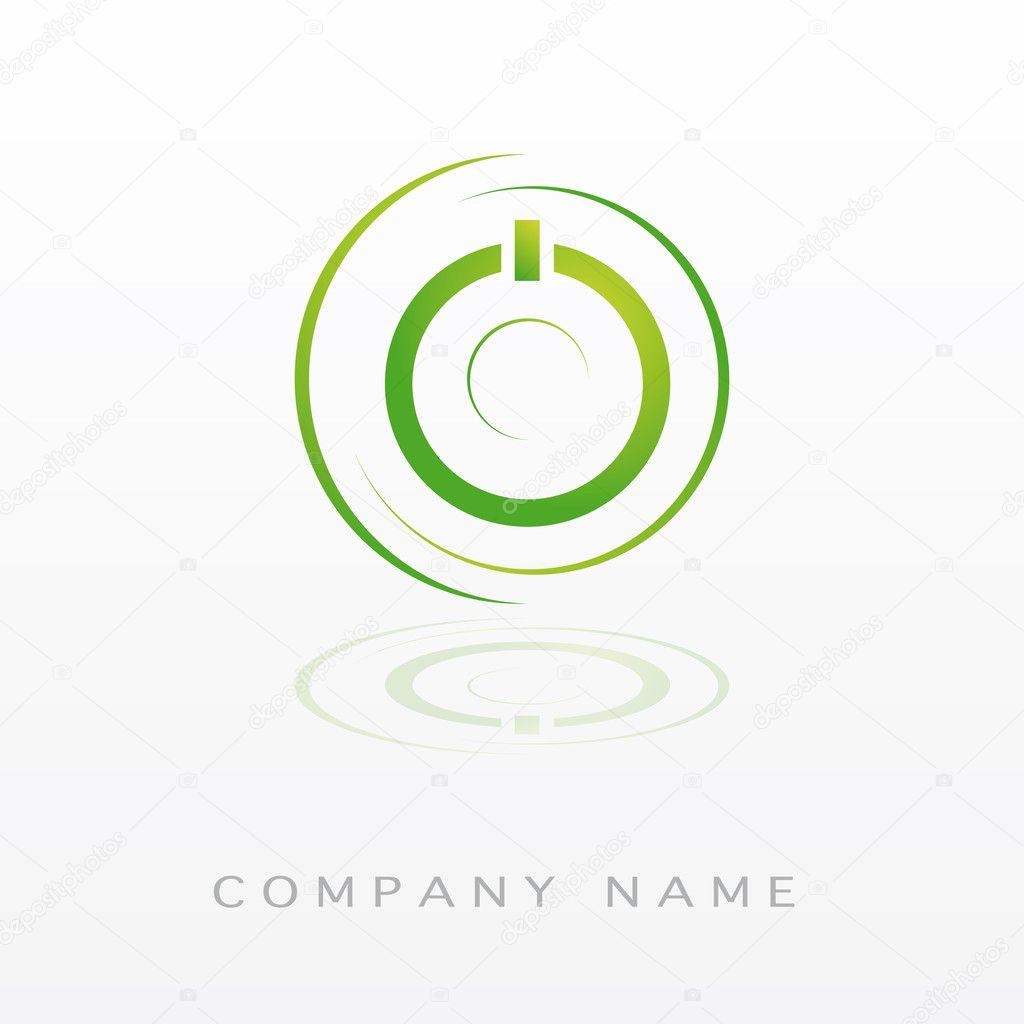 Logotype green power