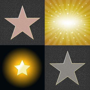 4 Star, Vector Illustration stock vector