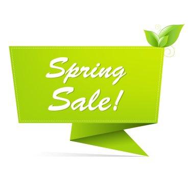 Sale Spring Banner