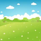 Fotografia cartone animato paesaggio