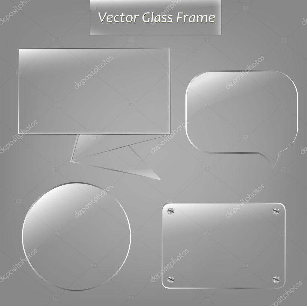 Glass Frame Set