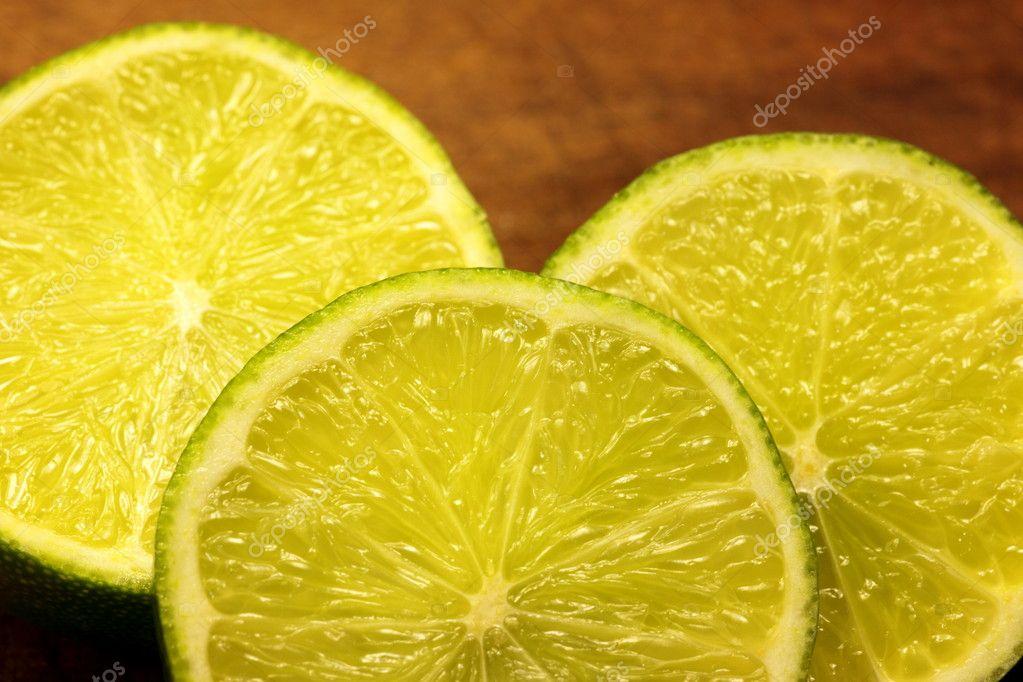 Lemon, Lime slice