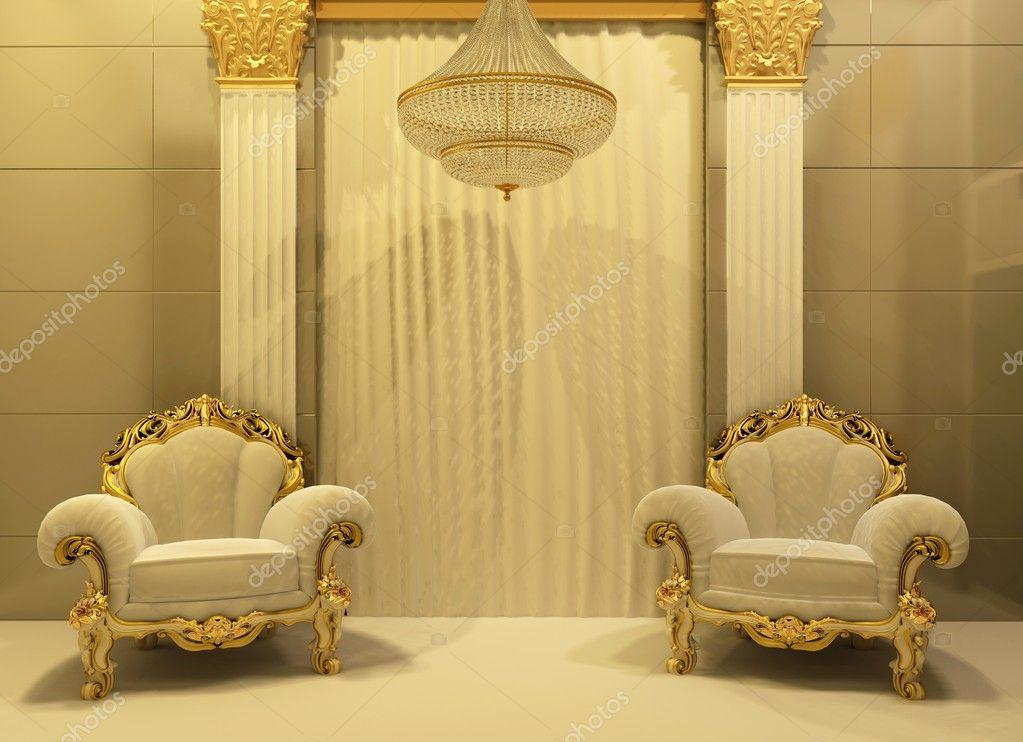 Poltrone Di Lusso Royal Interno Foto Stock C Victoriaandrea 5388617