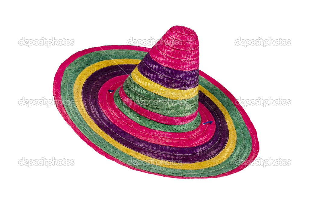 vícebarevné sombrero — Stock Fotografie © Joeblack  5402893 76c879bcd7