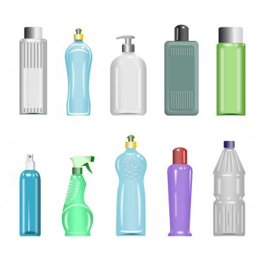 Plastic Bottles Set 5
