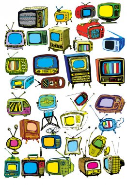 Retro TVs Collection