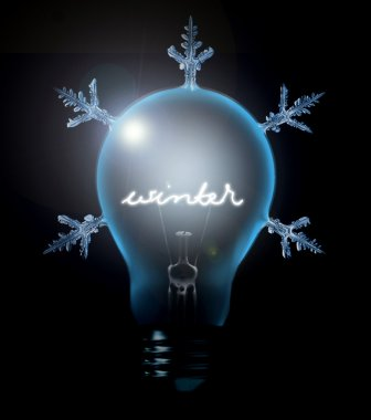Winter Energie Concept