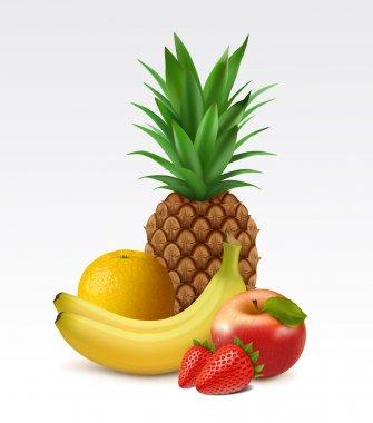 Ripe fruits