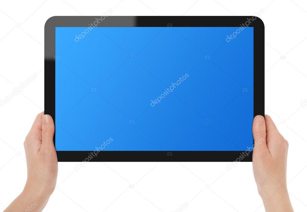 tablette cran tactile de l 39 exploitation photographie bloomua 5458838. Black Bedroom Furniture Sets. Home Design Ideas