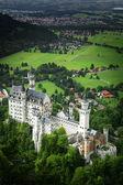 Fotografie Schloss Neuschwanstein, Fussen Bayern