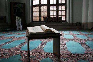 Student studying Islam