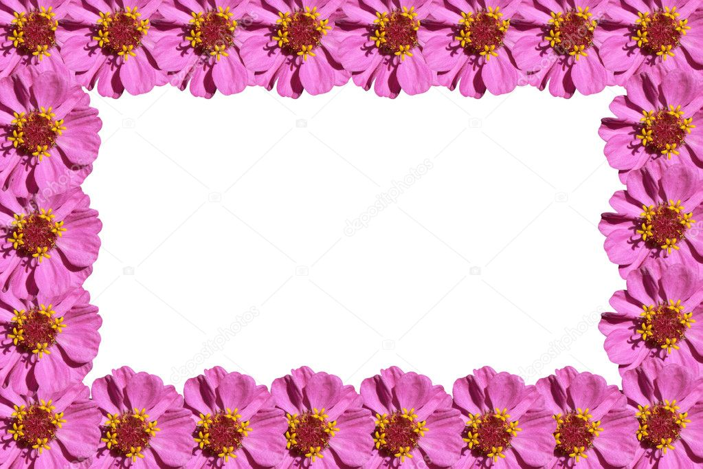 marco de flores de color púrpura — Fotos de Stock © gorielov #6317789