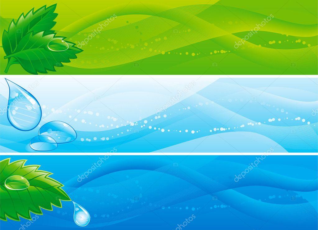 Environmental banners