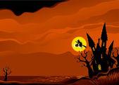 Halloween pozadí