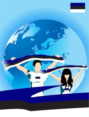 Estonian sport fans