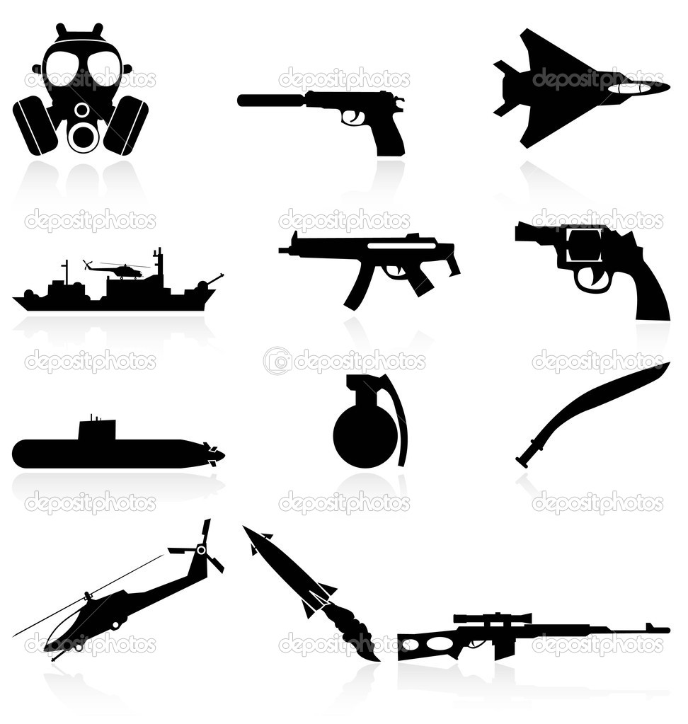 war weapons clipart - photo #3