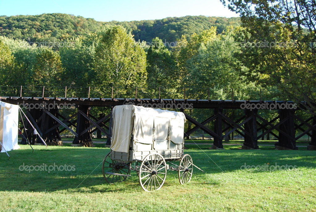 Carriage at Harpers Ferry