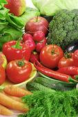 összetétele, nyers zöldségekkel