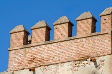 Details of the Castle of Aracena