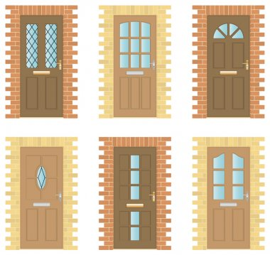 Wooden Doors Set