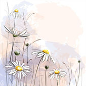 romantické květinové pozadí