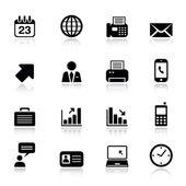 basic - Ikonen für Büro und Wirtschaft