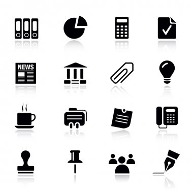 Basic - Office and Business icons